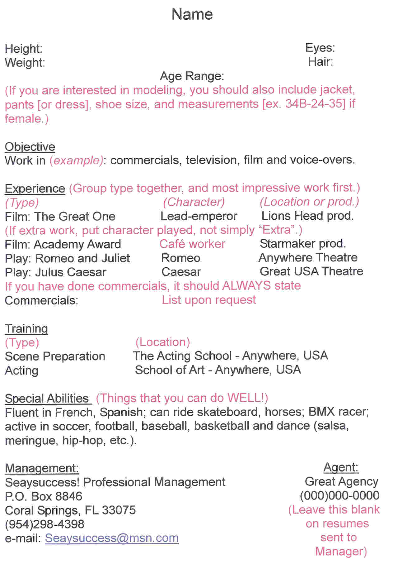 hair stylist resume examples